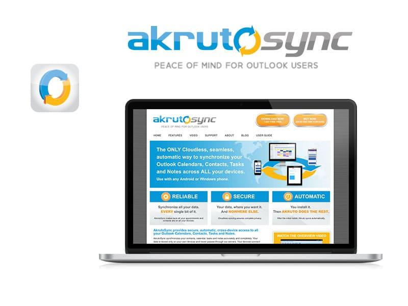 AkrutoSync Logo