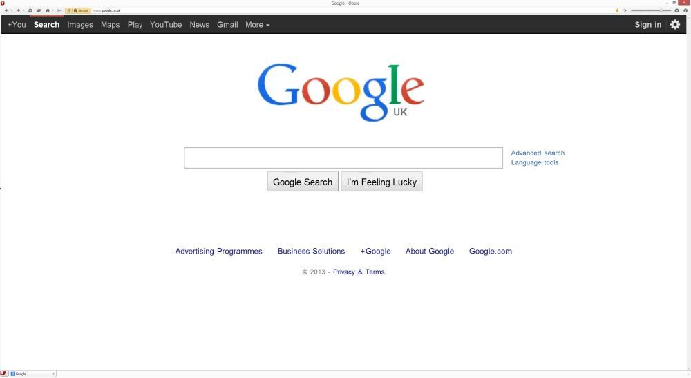 Google send users