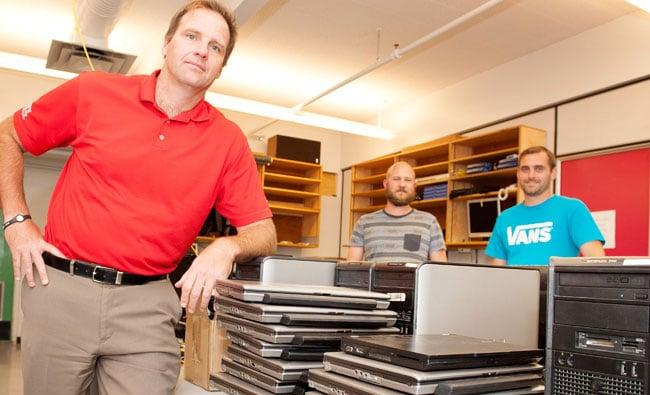 Marwick Marketing donated Squamish School