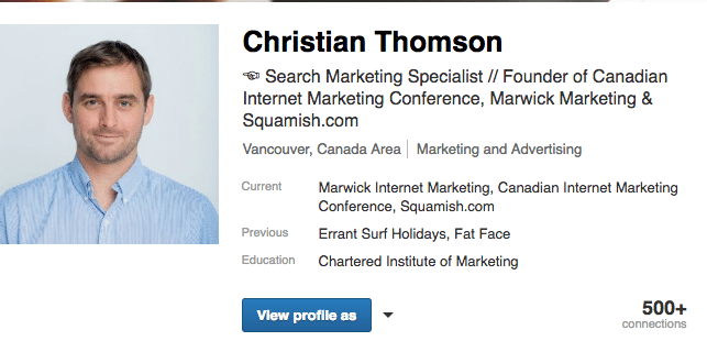 Christian Thomson