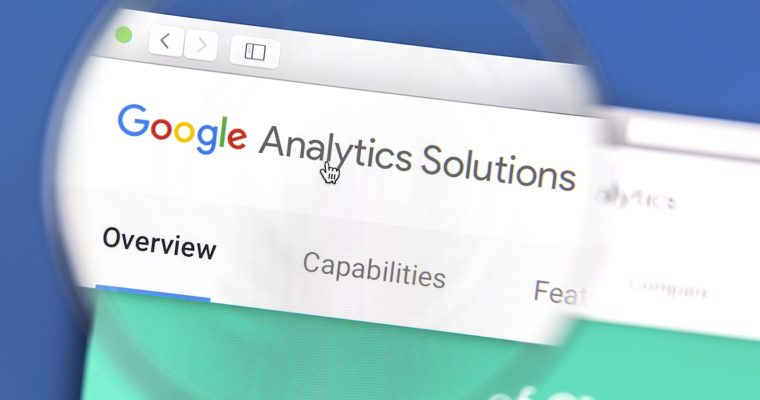 Google Analytics Audience Report banner