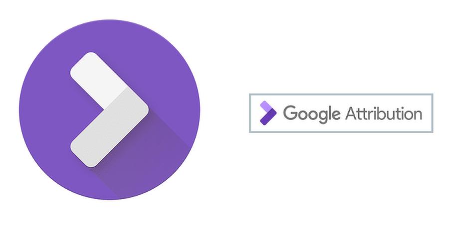 Google Attribution button