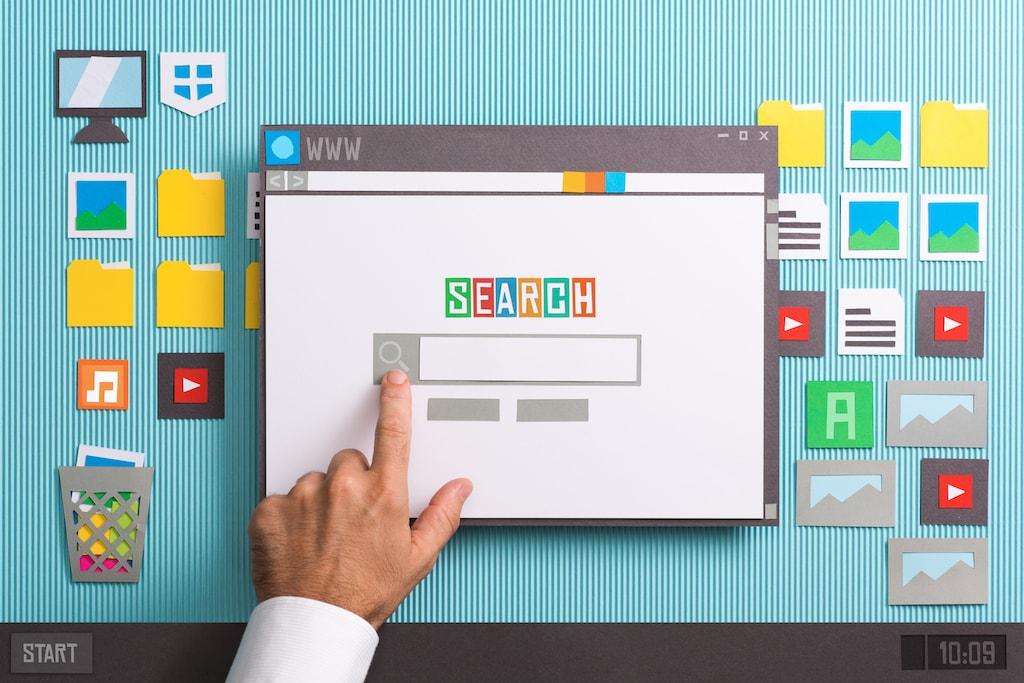 SEM Search Engine Marketing page Marwick