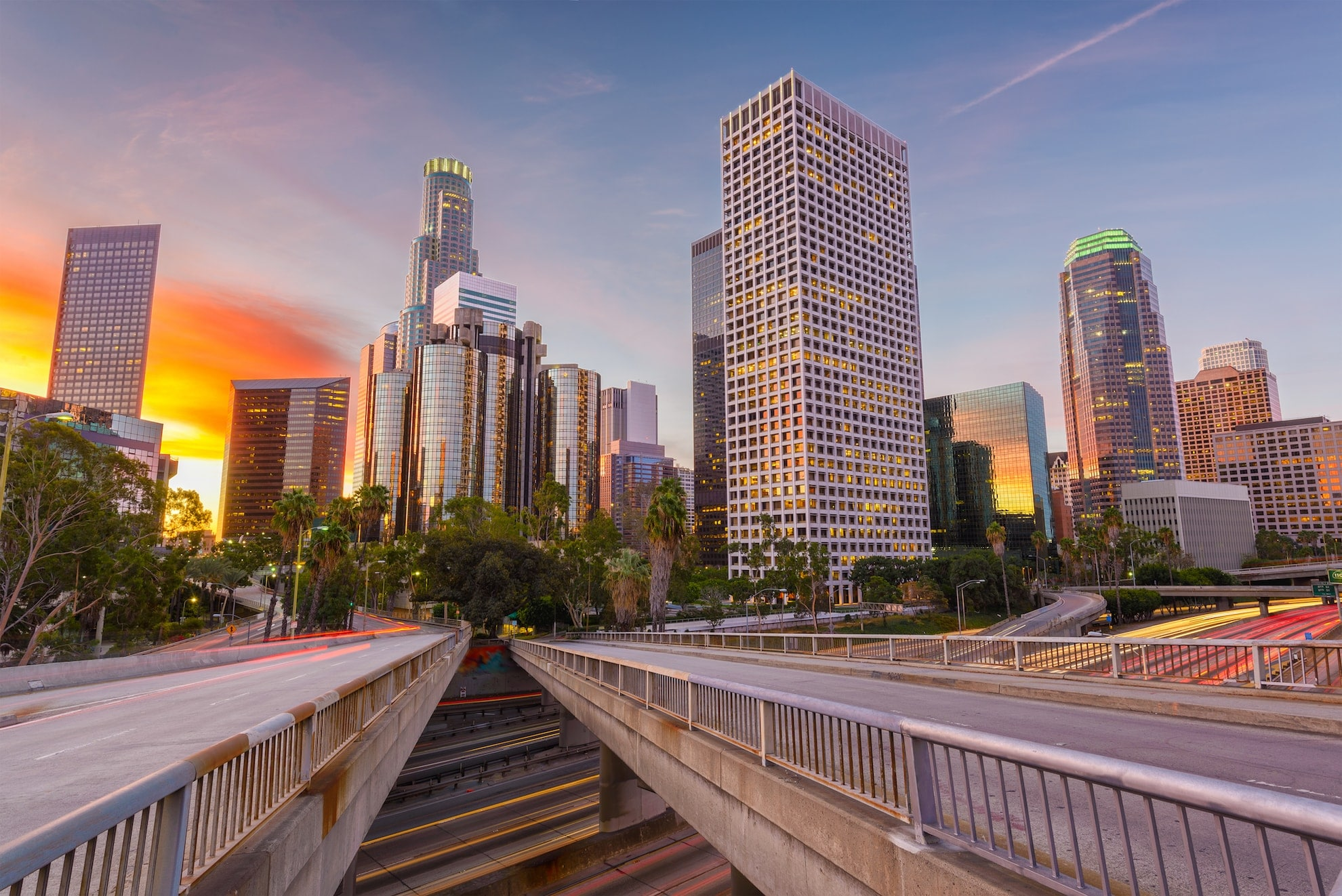 los angeles california usa skyline-Google AdWords Consultant