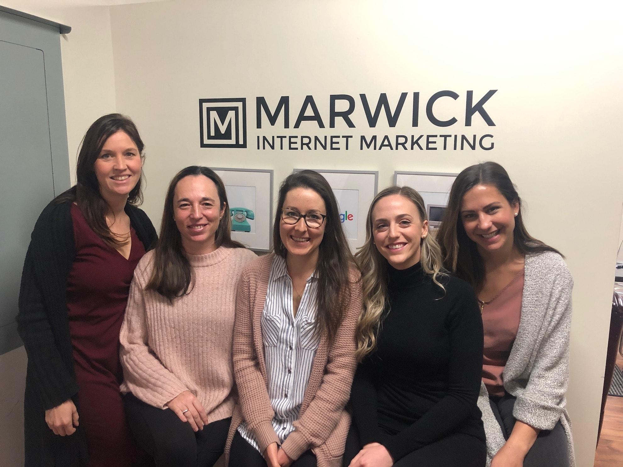 Vancouver SEO consultants Woman Team Marwick Marketing