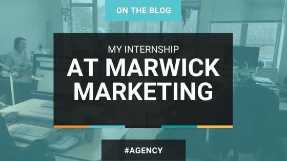 Internship at marwick marketing