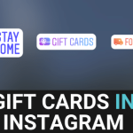 Gift Cards In Instagram