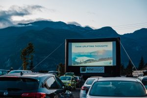 Cinema Under the Stars at Basecamp