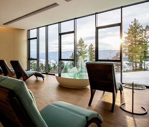 Sparkling Hill Resort interior