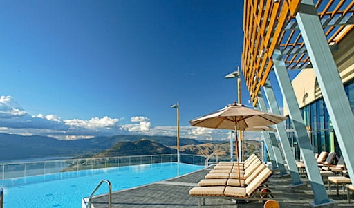 Sparkling Hill Resort swimming pool