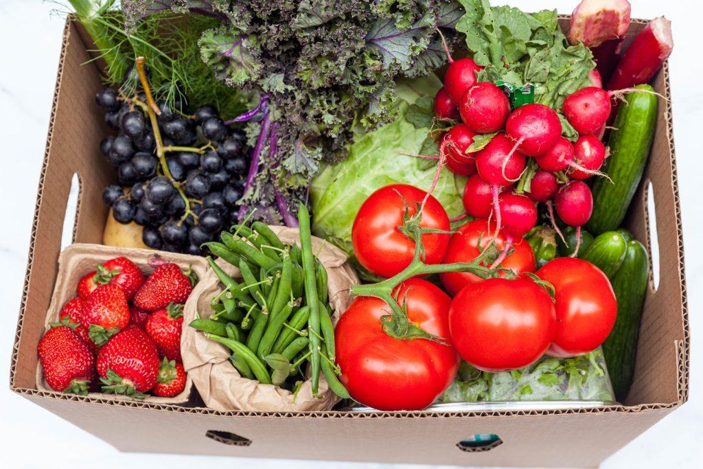 SPUD interview (farmers produce box)