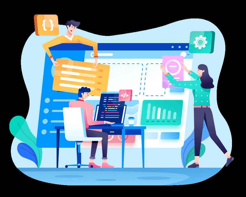 Web design development user friendly