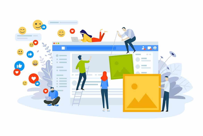 web design social media user friendly